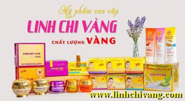 my pham linh chi vang