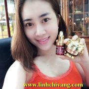 Serum Trắng Da Nhau Thai Cừu Linh Chi Vàng